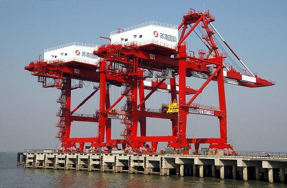 江阴苏南国际码头项目